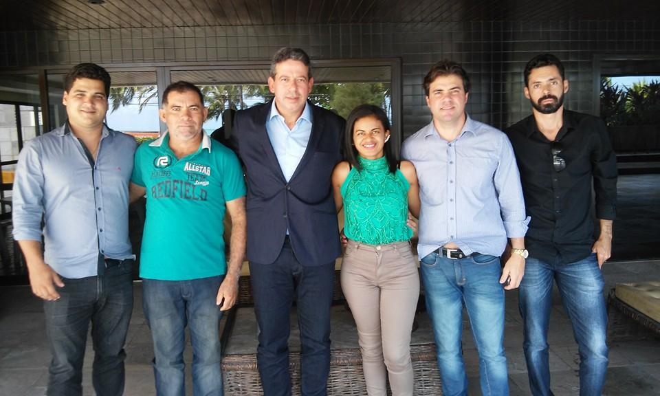 Água Branca: Deputado Arthur Lira declara apoio a Lurdinha do Sindicato e Gustavo Torres